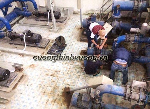 Lắp đặt hệ thống máy bơm cấp nước sinh hoạt