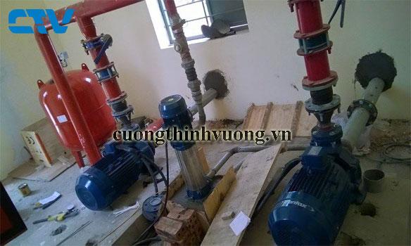 Tiêu chuẩn lắp đặt hệ thống máy bơm cấp nước sinh hoạt tòa nhà